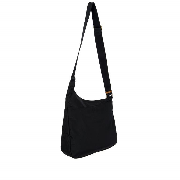 Umhängetasche X-Bag & X-Travel Black, Farbe: schwarz, Marke: Brics, EAN: 8016623886893, Abmessungen in cm: 32.0x28.0x8.0, Bild 6 von 7