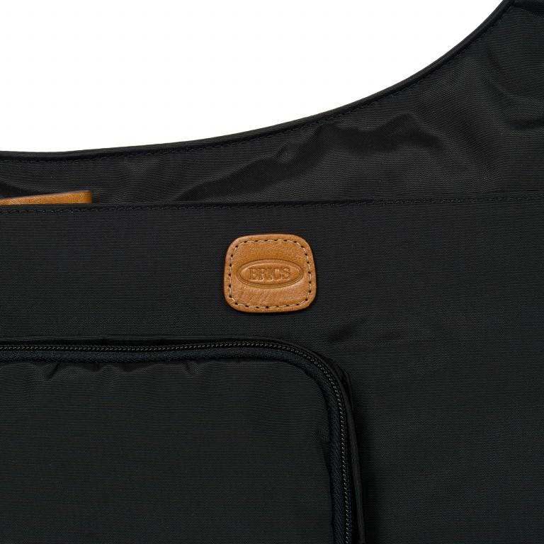 Umhängetasche X-Bag & X-Travel Black, Farbe: schwarz, Marke: Brics, EAN: 8016623886893, Abmessungen in cm: 32.0x28.0x8.0, Bild 7 von 7