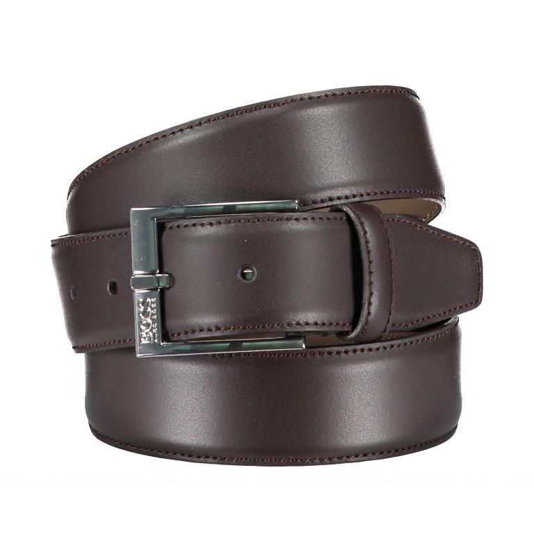 Gürtel Ellotyo, Farbe: schwarz, braun, Marke: Boss, Bild 1 von 3