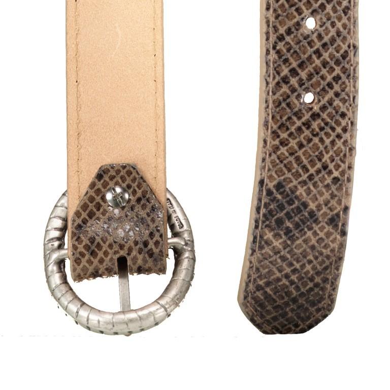 Gürtel Snake One Size, Farbe: schwarz, grau, taupe/khaki, Marke: Hausfelder, Bild 3 von 4
