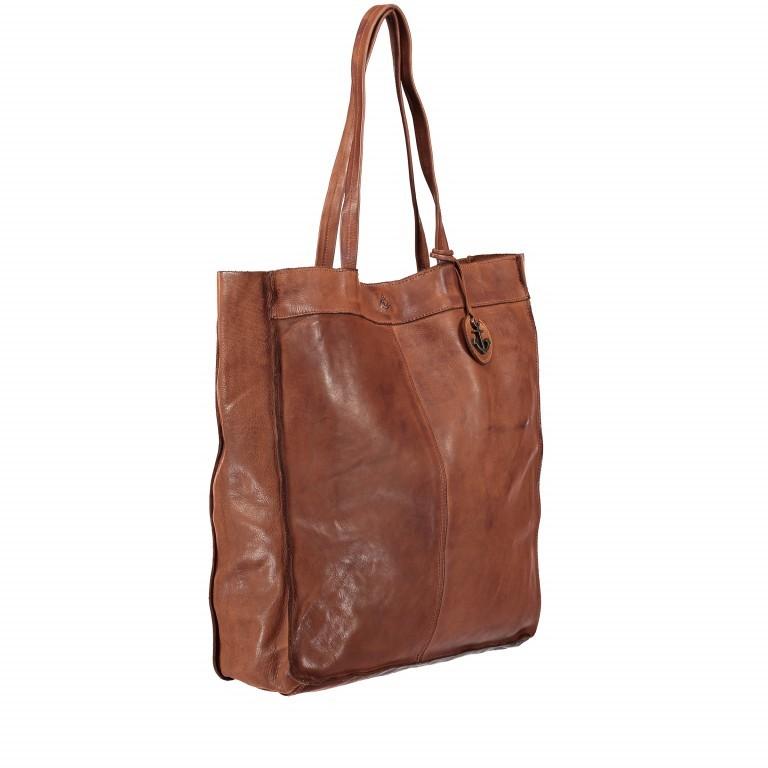 Shopper Anchor-Love Elbe 2 B3.6596 Charming Cognac, Farbe: cognac, Marke: Harbour 2nd, EAN: 4046478031616, Abmessungen in cm: 37.0x41.0x12.0, Bild 2 von 5