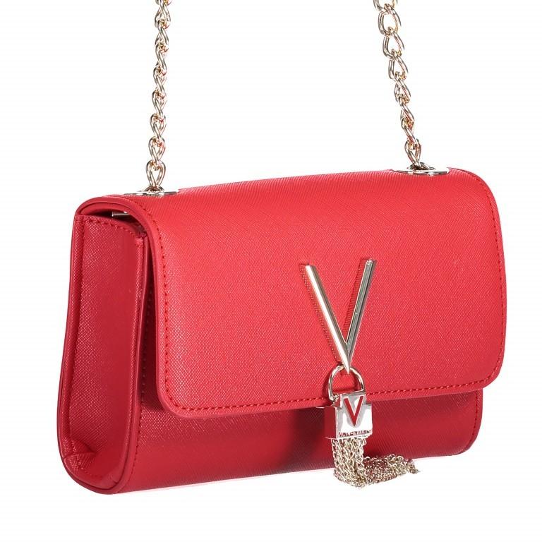 Umhängetasche Divina Rosso, Farbe: rot/weinrot, Marke: Valentino Bags, EAN: 8052790432310, Abmessungen in cm: 17.0x11.5x5.0, Bild 2 von 6