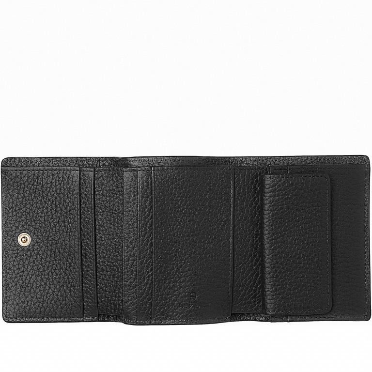 Geldbörse Ivy 151-058 Black, Farbe: schwarz, Marke: AIGNER, EAN: 4055539228247, Abmessungen in cm: 10.5x8.5x2.5, Bild 2 von 2
