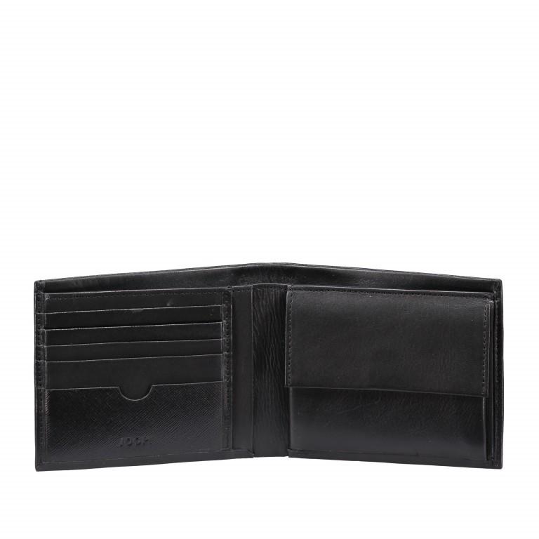 Geldbörse Pero Ninos H10 Black, Farbe: schwarz, Marke: Joop!, EAN: 4053533570690, Abmessungen in cm: 12.0x9.5x2.0, Bild 2 von 3