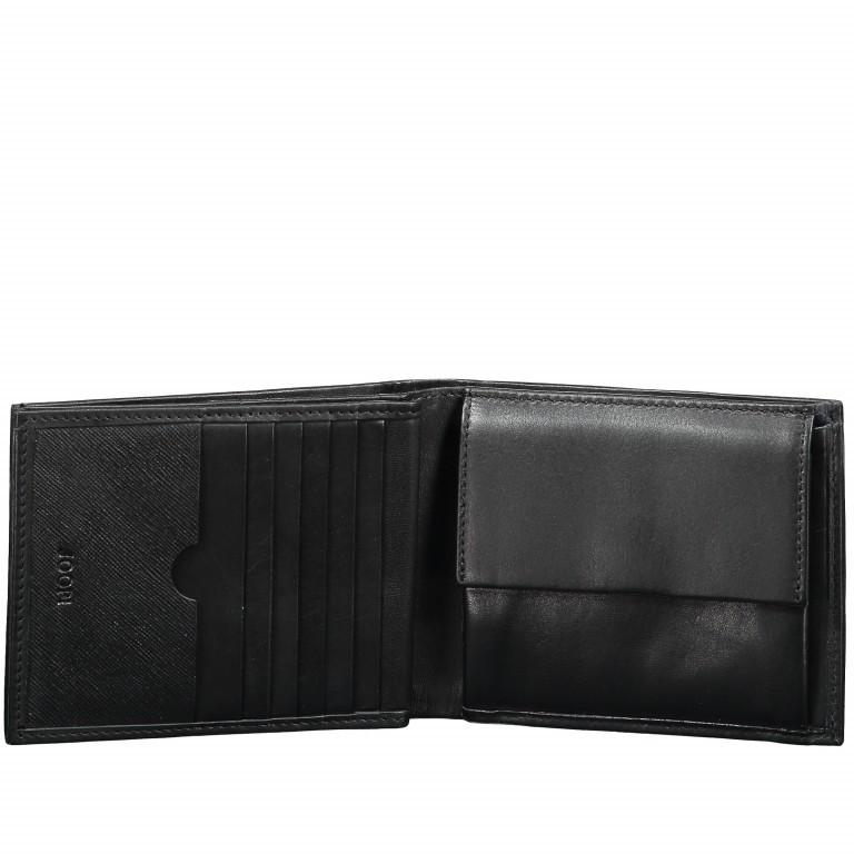Geldbörse Pero Minos H14 Black, Farbe: schwarz, Marke: Joop!, EAN: 4053533570706, Abmessungen in cm: 12.0x9.5x2.0, Bild 2 von 4