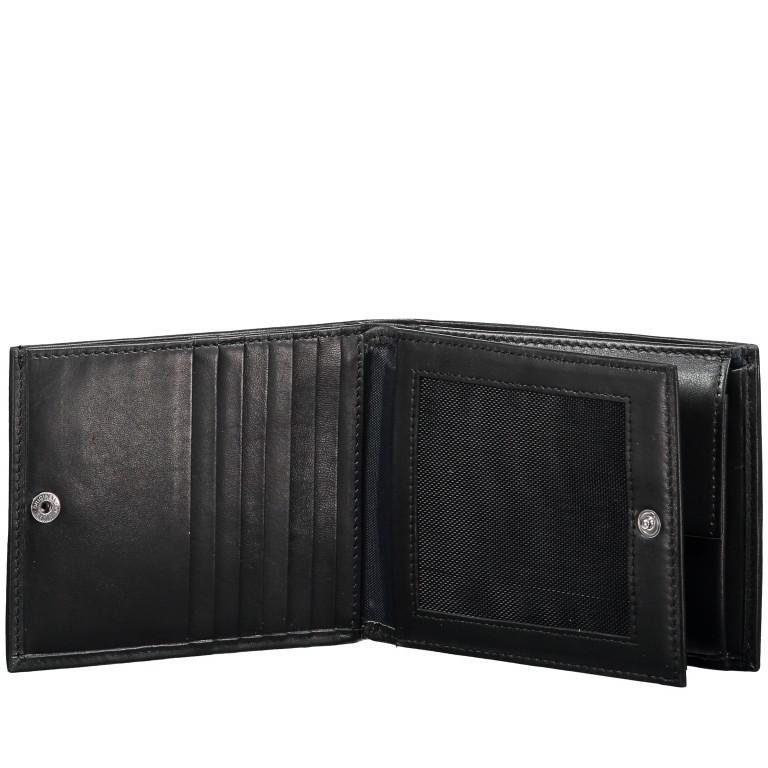 Geldbörse Pero Minos H14 Black, Farbe: schwarz, Marke: Joop!, EAN: 4053533570706, Abmessungen in cm: 12.0x9.5x2.0, Bild 3 von 4