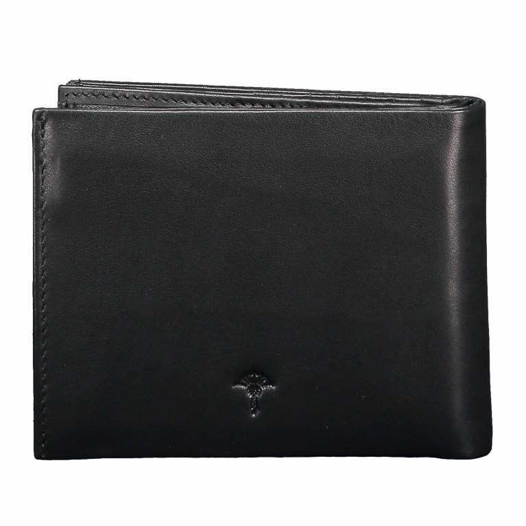 Geldbörse Pero Minos H14 Black, Farbe: schwarz, Marke: Joop!, EAN: 4053533570706, Abmessungen in cm: 12.0x9.5x2.0, Bild 4 von 4