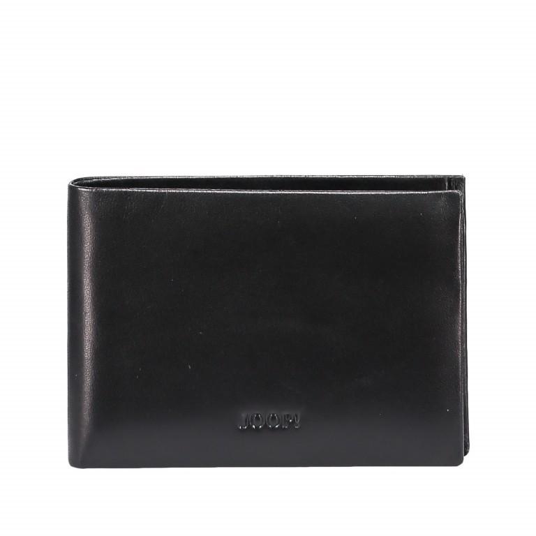 Geldbörse Pero Nestor H2 Black, Farbe: schwarz, Marke: Joop!, EAN: 4053533570713, Abmessungen in cm: 11.0x7.5x1.5, Bild 1 von 3
