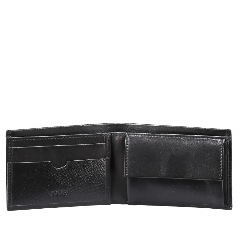 Geldbörse Pero Nestor H2 Black, Farbe: schwarz, Marke: Joop!, EAN: 4053533570713, Abmessungen in cm: 11.0x7.5x1.5, Bild 2 von 3