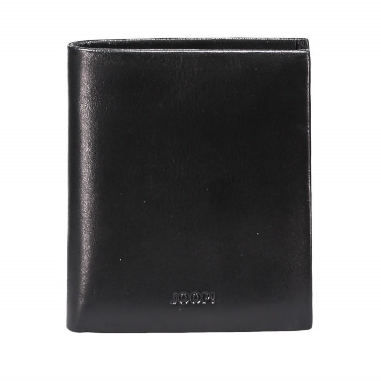 Geldbörse Pero Daphnis V6 Black, Farbe: schwarz, Marke: Joop!, EAN: 4053533570744, Abmessungen in cm: 9.0x10.5x2.0, Bild 1 von 3
