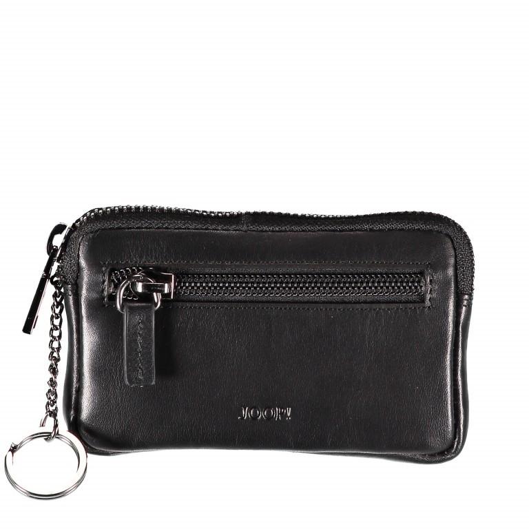 Schlüsseletui Pero Gryphos LZ Black, Farbe: schwarz, Marke: Joop!, EAN: 4053533570782, Abmessungen in cm: 12.5x8.0x1.2, Bild 1 von 2