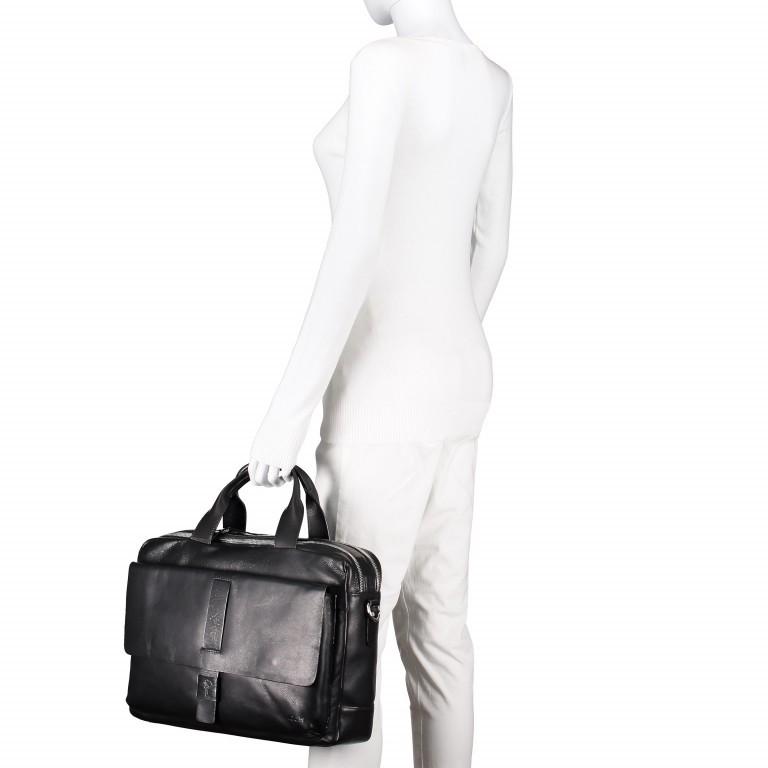 Aktentasche Loreto Pandion MHZ Black, Farbe: schwarz, Marke: Joop!, EAN: 4053533529582, Abmessungen in cm: 40.0x31.0x10.0, Bild 6 von 6