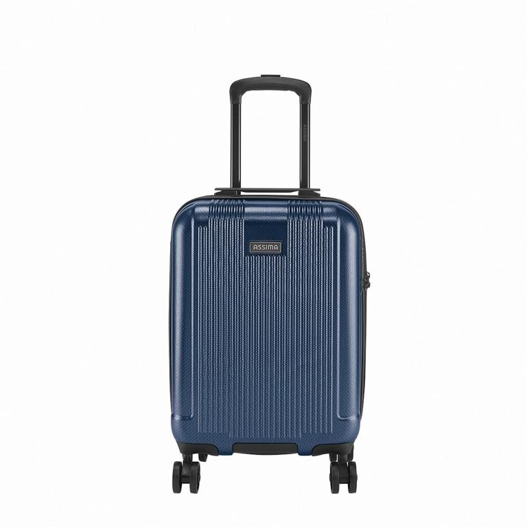 Koffer Albany 55 cm Dunkelblau, Farbe: blau/petrol, Marke: Assima, Abmessungen in cm: 36.0x55.0x20.0, Bild 1 von 5