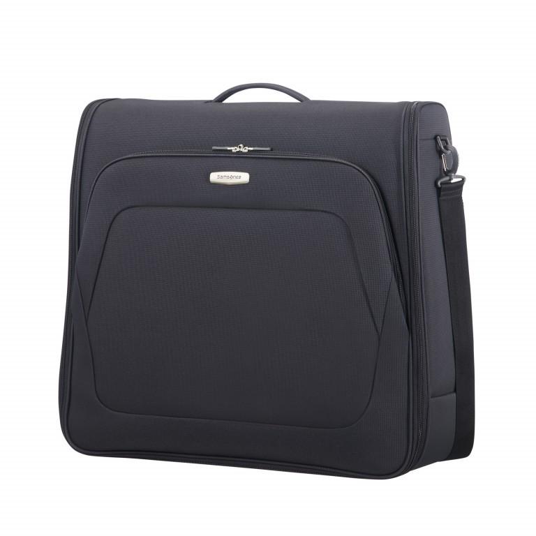 Kleidersack Spark Garment Bag Bi-Fold Black Black, Farbe: schwarz, Marke: Samsonite, EAN: 5414847759246, Abmessungen in cm: 61.0x56.0x17.0, Bild 1 von 7