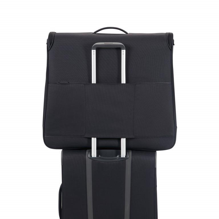 Kleidersack Spark Garment Bag Bi-Fold Black Black, Farbe: schwarz, Marke: Samsonite, EAN: 5414847759246, Abmessungen in cm: 61.0x56.0x17.0, Bild 4 von 7