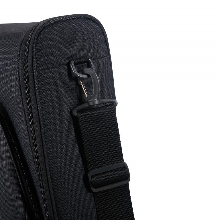 Kleidersack Spark Garment Bag Bi-Fold Black Black, Farbe: schwarz, Marke: Samsonite, EAN: 5414847759246, Abmessungen in cm: 61.0x56.0x17.0, Bild 6 von 7