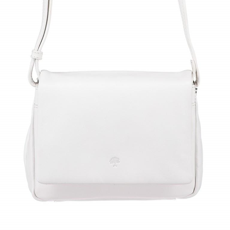 Umhängetasche Cambridge Valentino Weiß, Farbe: weiß, Marke: Hausfelder, EAN: 4251672709661, Abmessungen in cm: 19.0x14.0x6.0, Bild 1 von 6