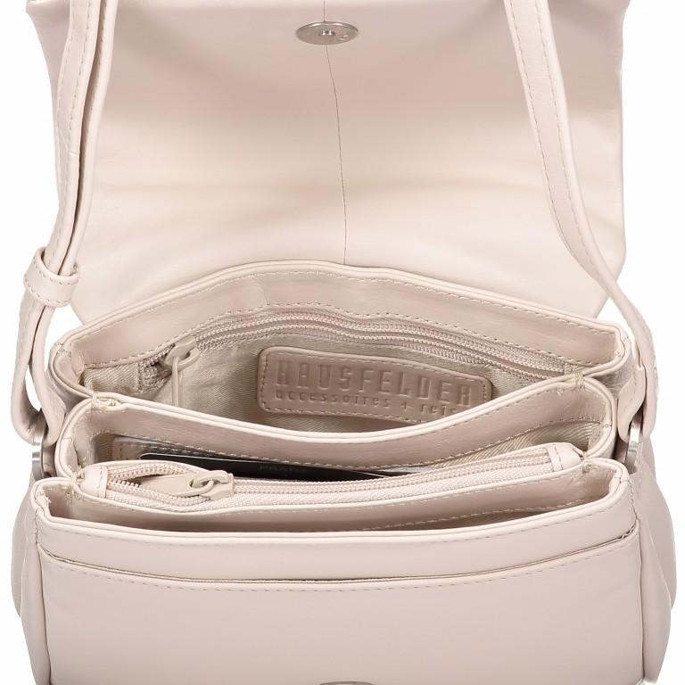 Umhängetasche Cambridge Valentino Weiß, Farbe: weiß, Marke: Hausfelder, EAN: 4251672709661, Abmessungen in cm: 19.0x14.0x6.0, Bild 4 von 6