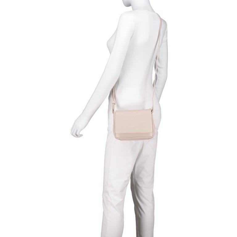 Umhängetasche Cambridge Valentino Weiß, Farbe: weiß, Marke: Hausfelder, EAN: 4251672709661, Abmessungen in cm: 19.0x14.0x6.0, Bild 6 von 6