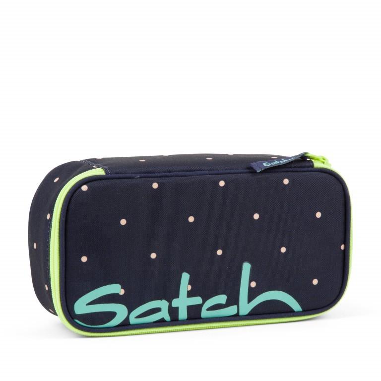 Schlamperbox Pretty Confetti, Farbe: blau/petrol, Marke: Satch, EAN: 4057081057801, Abmessungen in cm: 22.0x6.0x10.0, Bild 1 von 3