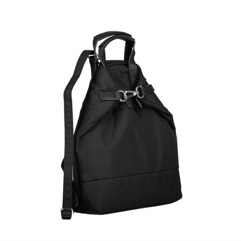 Rucksack Bergen X-Change Xs 3-in-1-Funktion Black, Farbe: schwarz, Marke: Jost, EAN: 4025307727586, Abmessungen in cm: 29.0x32.0x10.0, Bild 2 von 10