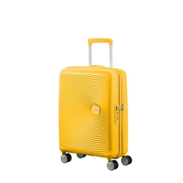 Trolley Soundbox 55 cm Golden Yellow, Farbe: gelb, Marke: American Tourister, EAN: 5414847854095, Abmessungen in cm: 40.0x55.0x20.0, Bild 1 von 9