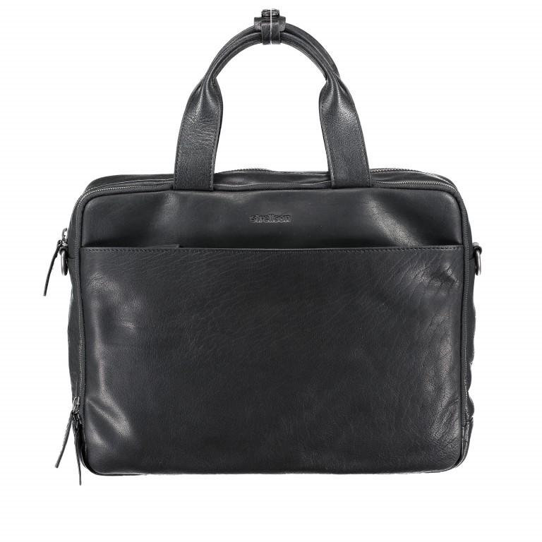 Aktentasche Coleman Briefbag MHZ Black, Farbe: schwarz, Marke: Strellson, EAN: 4053533651719, Abmessungen in cm: 38.5x30.0x12.0, Bild 1 von 7