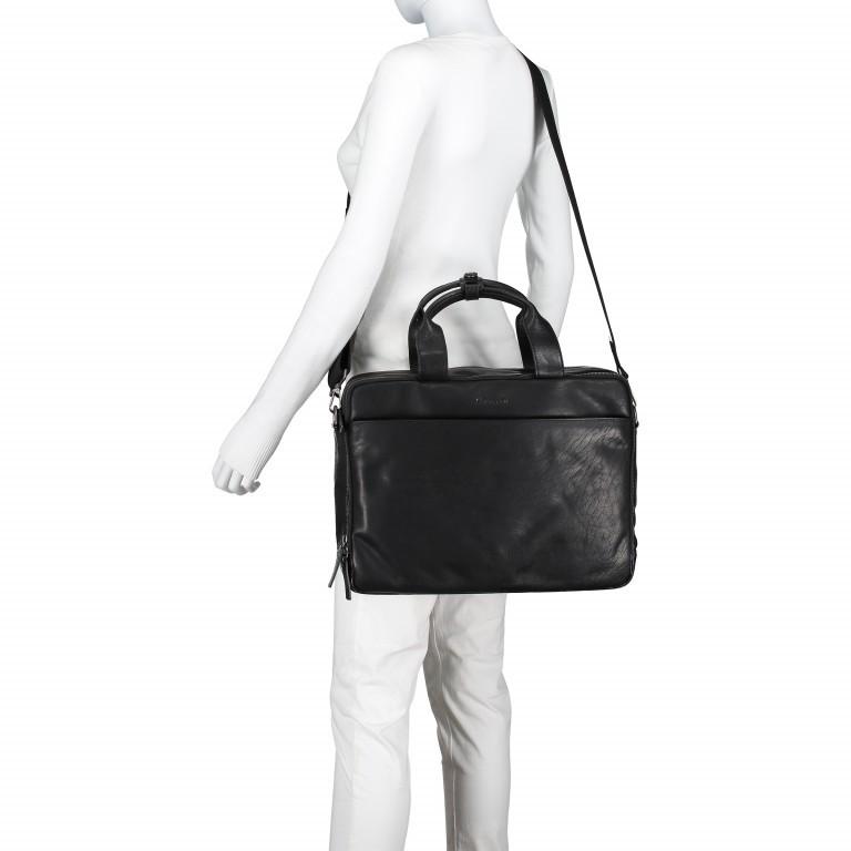 Aktentasche Coleman Briefbag MHZ Black, Farbe: schwarz, Marke: Strellson, EAN: 4053533651719, Abmessungen in cm: 38.5x30.0x12.0, Bild 3 von 7