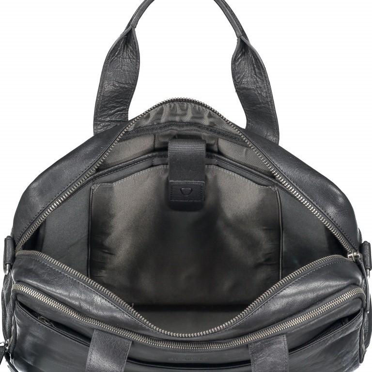 Aktentasche Coleman Briefbag MHZ Black, Farbe: schwarz, Marke: Strellson, EAN: 4053533651719, Abmessungen in cm: 38.5x30.0x12.0, Bild 4 von 7