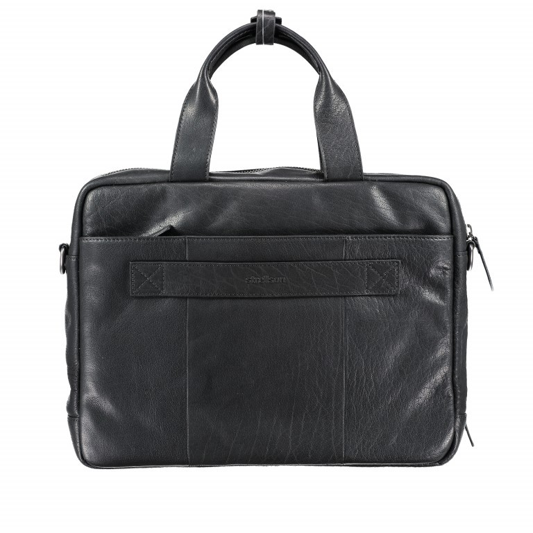 Aktentasche Coleman Briefbag MHZ Black, Farbe: schwarz, Marke: Strellson, EAN: 4053533651719, Abmessungen in cm: 38.5x30.0x12.0, Bild 6 von 7