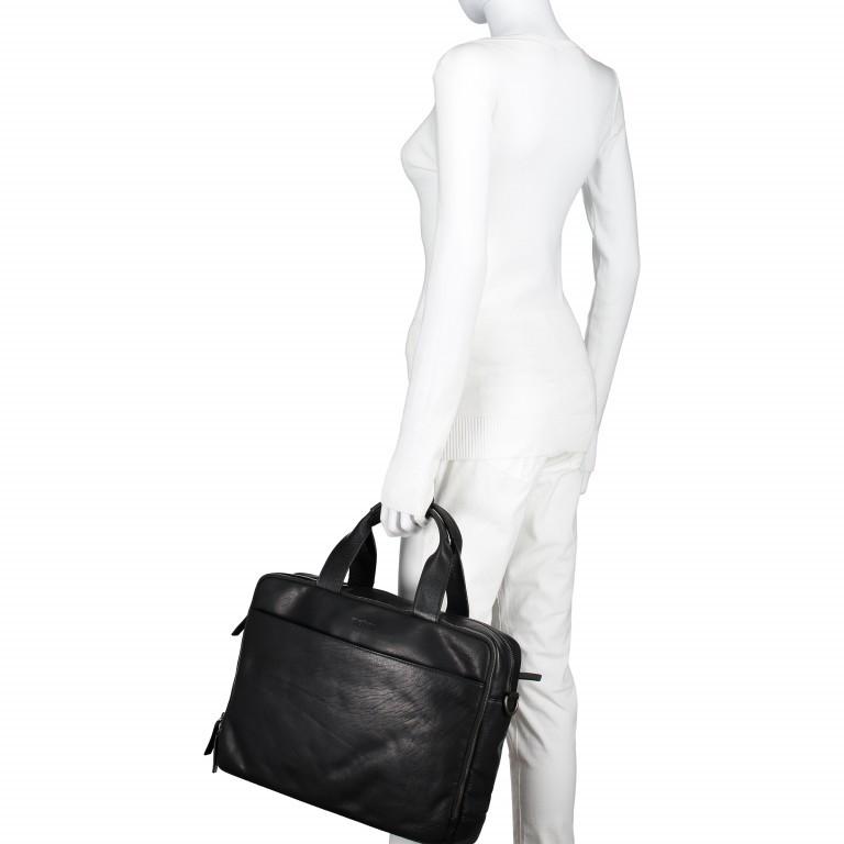 Aktentasche Coleman Briefbag MHZ Black, Farbe: schwarz, Marke: Strellson, EAN: 4053533651719, Abmessungen in cm: 38.5x30.0x12.0, Bild 7 von 7