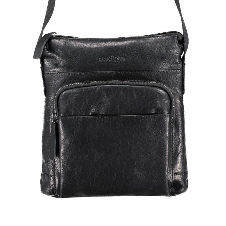 Umhängetasche Coleman Shoulderbag SVZ Black, Farbe: schwarz, Marke: Strellson, EAN: 4053533589036, Abmessungen in cm: 24.0x27x0x7.0, Bild 1 von 5