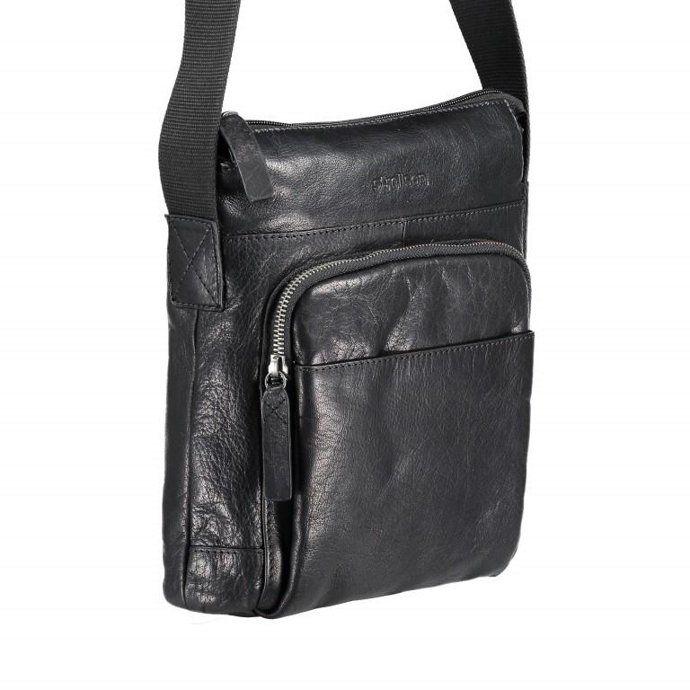 Umhängetasche Coleman Shoulderbag SVZ Black, Farbe: schwarz, Marke: Strellson, EAN: 4053533589036, Abmessungen in cm: 24.0x27x0x7.0, Bild 2 von 5