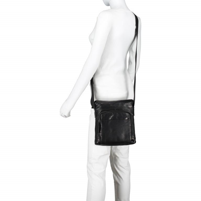 Umhängetasche Coleman Shoulderbag SVZ Black, Farbe: schwarz, Marke: Strellson, EAN: 4053533589036, Abmessungen in cm: 24.0x27x0x7.0, Bild 3 von 5