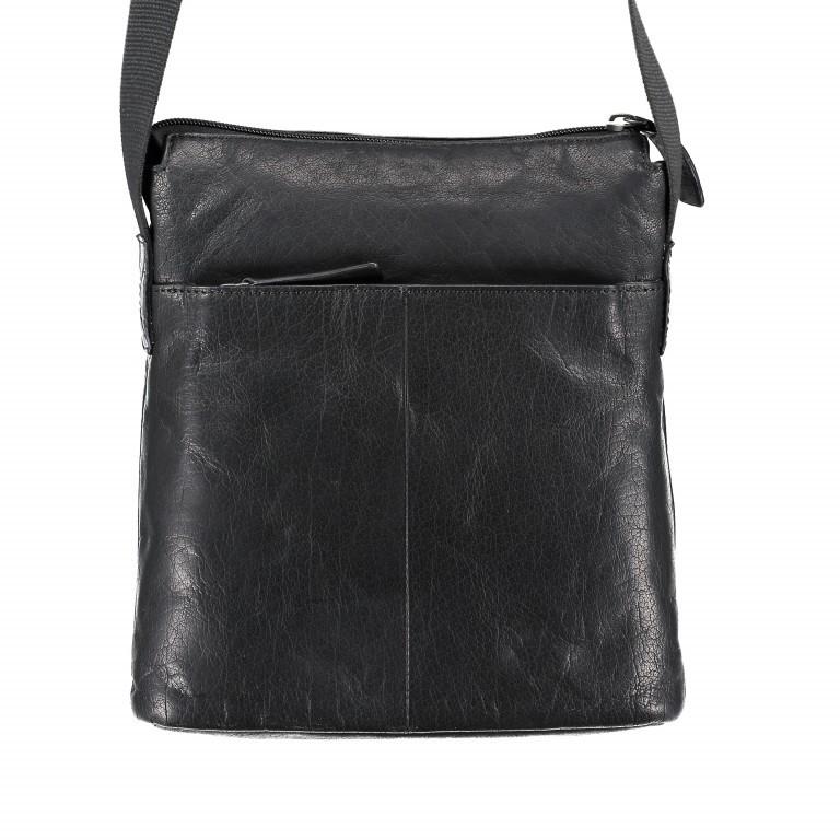 Umhängetasche Coleman Shoulderbag SVZ Black, Farbe: schwarz, Marke: Strellson, EAN: 4053533589036, Abmessungen in cm: 24.0x27x0x7.0, Bild 5 von 5