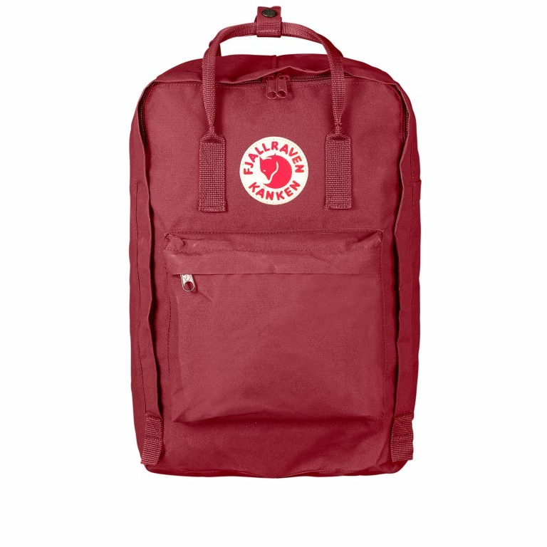Rucksack Kånken Laptop 17 Zoll Ox Red, Farbe: rot/weinrot, Marke: Fjällräven, EAN: 7392158988730, Abmessungen in cm: 30.0x42.0x18.0, Bild 1 von 15