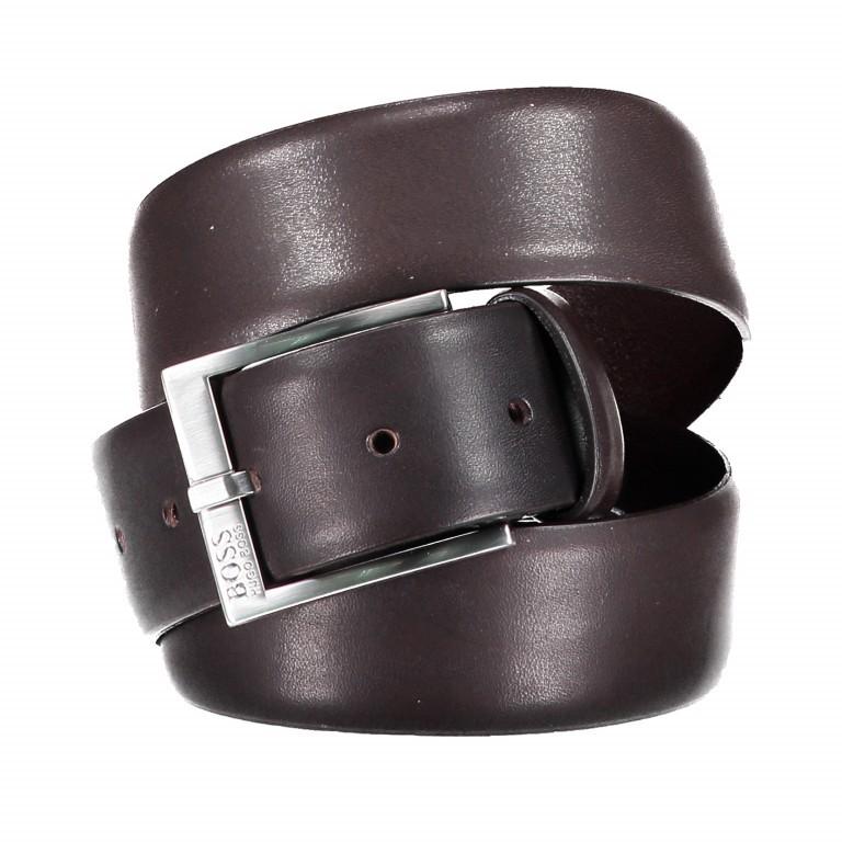 Gürtel Erron Bundweite 100 cm Dark Brown, Farbe: braun, Marke: Boss, EAN: 4021402445493, Bild 1 von 3