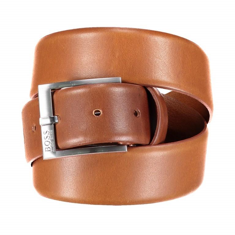 Gürtel Erron Bundweite 100 cm Medium Brown, Farbe: braun, Marke: Boss, EAN: 4021402115792, Bild 1 von 3