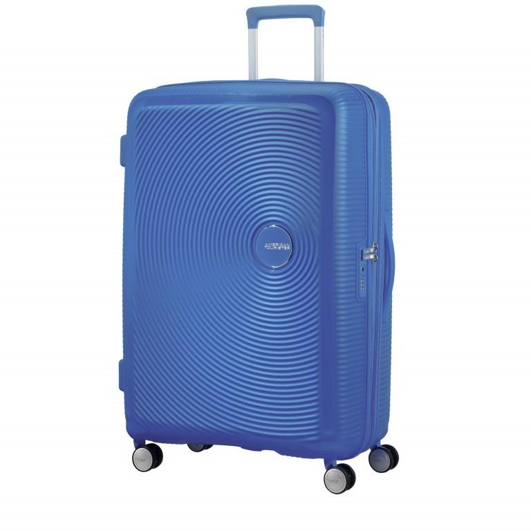 Trolley Soundbox 4-Rollen 77 cm Midnight Navy, Farbe: blau/petrol, Marke: American Tourister, EAN: 5414847772184, Abmessungen in cm: 51.5x77.0x29.5, Bild 1 von 7