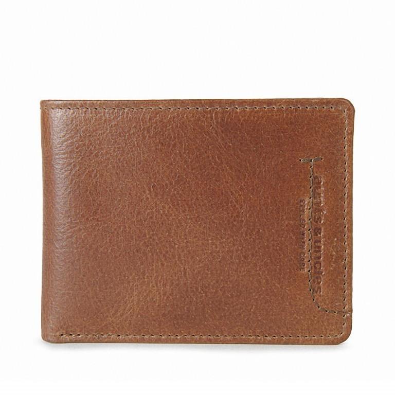 Geldbörse Workmates Smooth Operator Oak, Farbe: cognac, Marke: Aunts & Uncles, EAN: 4250394945531, Abmessungen in cm: 10.5x8.5x1.0, Bild 1 von 1