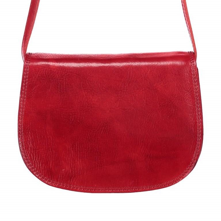 Satteltasche Toscana Größe M Rot, Farbe: rot/weinrot, Marke: Hausfelder, EAN: 4065646000179, Abmessungen in cm: 27.0x20.0x11.0, Bild 1 von 6