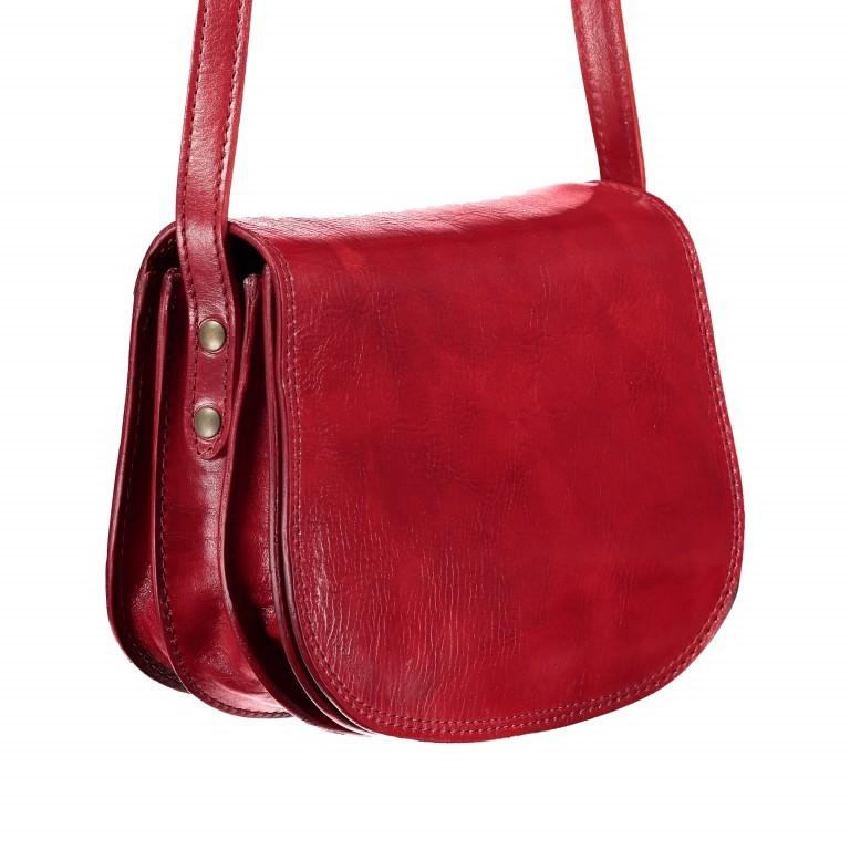 Satteltasche Toscana Größe M Rot, Farbe: rot/weinrot, Marke: Hausfelder, EAN: 4065646000179, Abmessungen in cm: 27.0x20.0x11.0, Bild 2 von 6