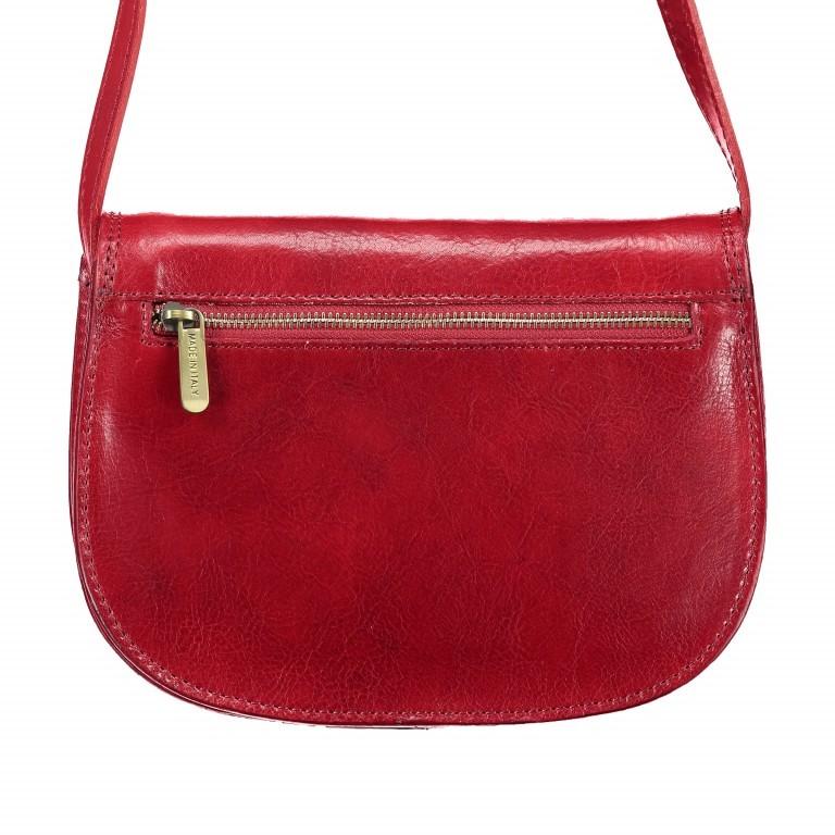 Satteltasche Toscana Größe M Rot, Farbe: rot/weinrot, Marke: Hausfelder, EAN: 4065646000179, Abmessungen in cm: 27.0x20.0x11.0, Bild 3 von 6