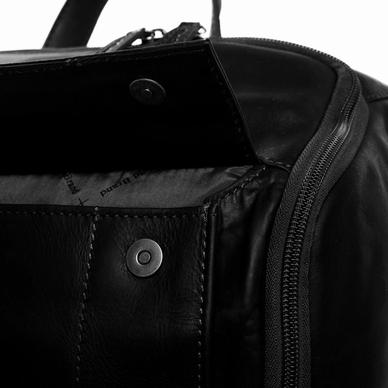 Rucksack Rich Laptopfach 15,4 Zoll, Farbe: schwarz, braun, cognac, Marke: The Chesterfield Brand, Abmessungen in cm: 32.0x40.0x14.0, Bild 6 von 6