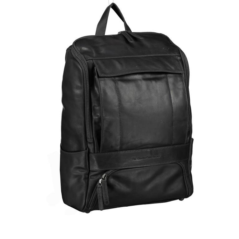 Rucksack Rich Laptopfach 15,4 Zoll, Farbe: schwarz, braun, cognac, Marke: The Chesterfield Brand, Abmessungen in cm: 32.0x40.0x14.0, Bild 1 von 6