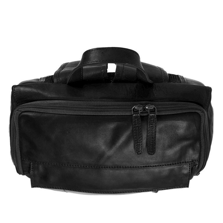 Rucksack Rich Laptopfach 15,4 Zoll, Farbe: schwarz, braun, cognac, Marke: The Chesterfield Brand, Abmessungen in cm: 32.0x40.0x14.0, Bild 5 von 6