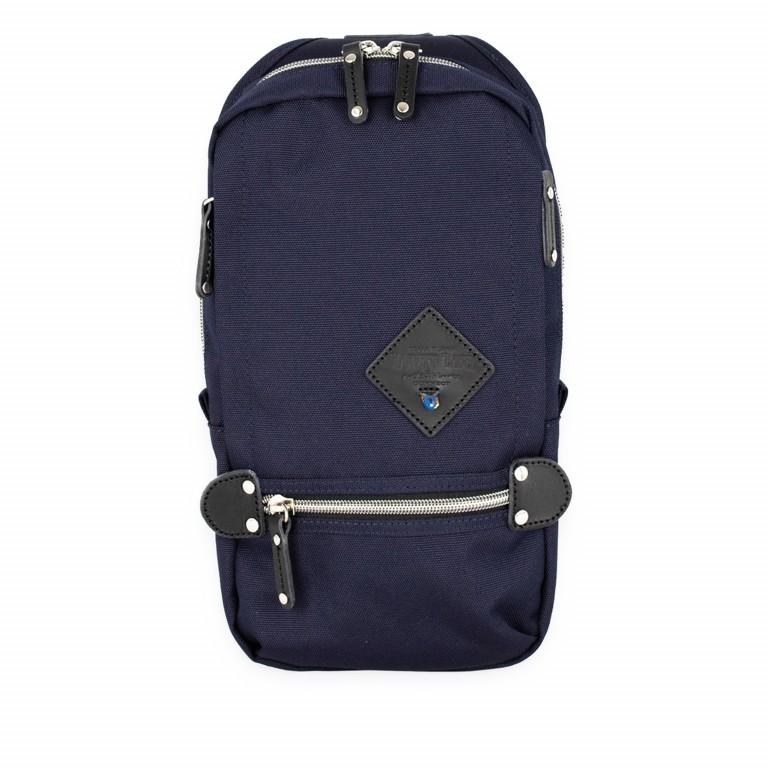 Slingbag Takao Navy, Farbe: blau/petrol, Marke: Harvest Label, EAN: 4260594130248, Abmessungen in cm: 18.0x32.0x6.0, Bild 1 von 8