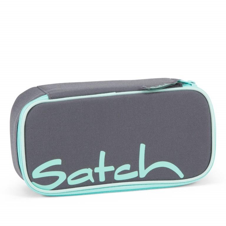 Schlamperbox Mint Phantom, Farbe: grau, Marke: Satch, EAN: 4057081034338, Abmessungen in cm: 22.0x6.0x10.0, Bild 1 von 3