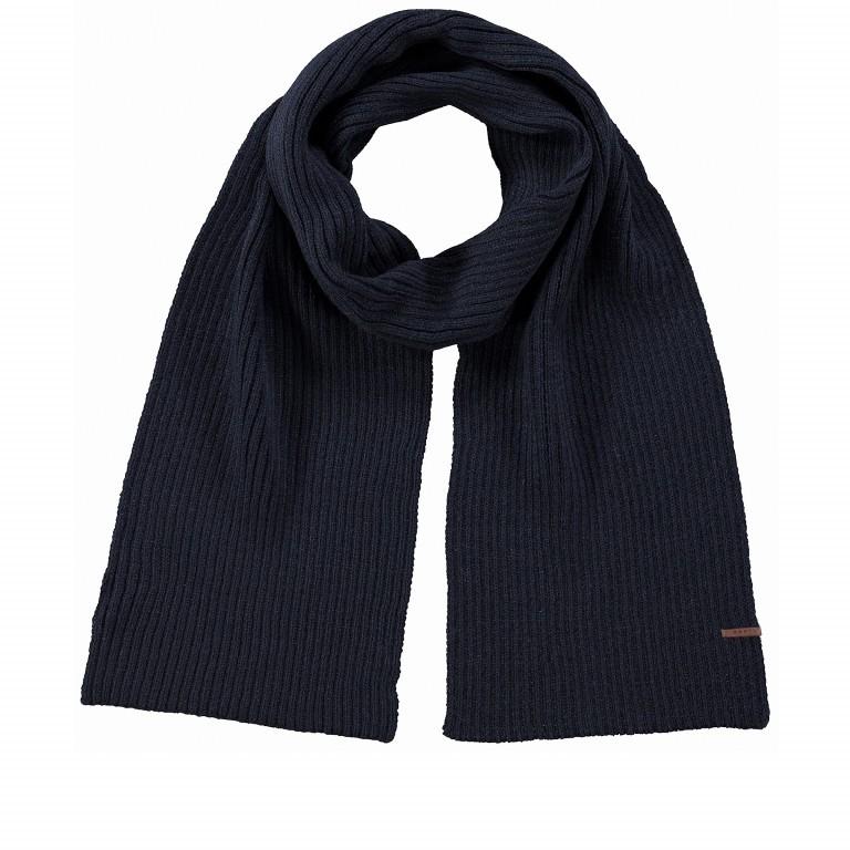 Schal Wilbert, Farbe: schwarz, anthrazit, grau, blau/petrol, grün/oliv, Marke: Barts, Abmessungen in cm: 160.0x20.0, Bild 1 von 2