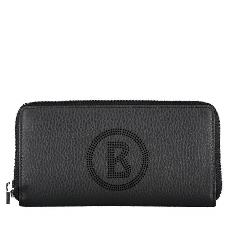 Geldbörse Sulden Ela Black, Farbe: schwarz, Marke: Bogner, EAN: 4053533735402, Abmessungen in cm: 18.5x10.0x2.0, Bild 1 von 5